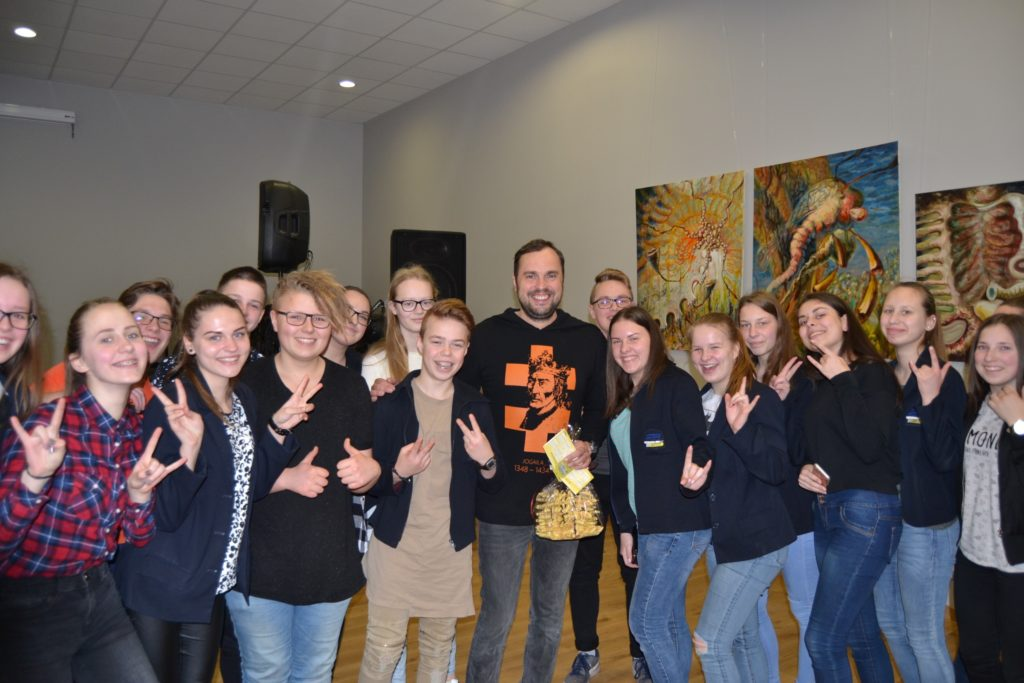 """Meet the """"Open Science Schooling"""" team from Lithuania, Pasvalys"""